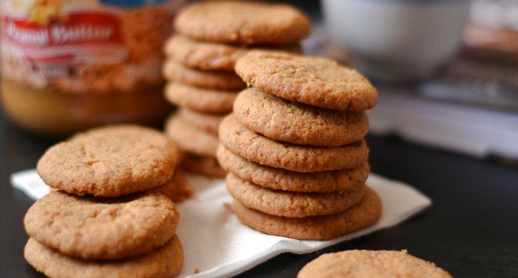 Mogyoróvajas keksz recept
