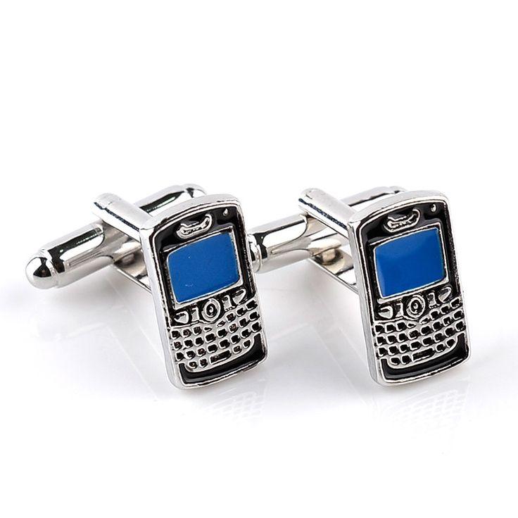 Classical Mobile Phone Shape Cufflinks