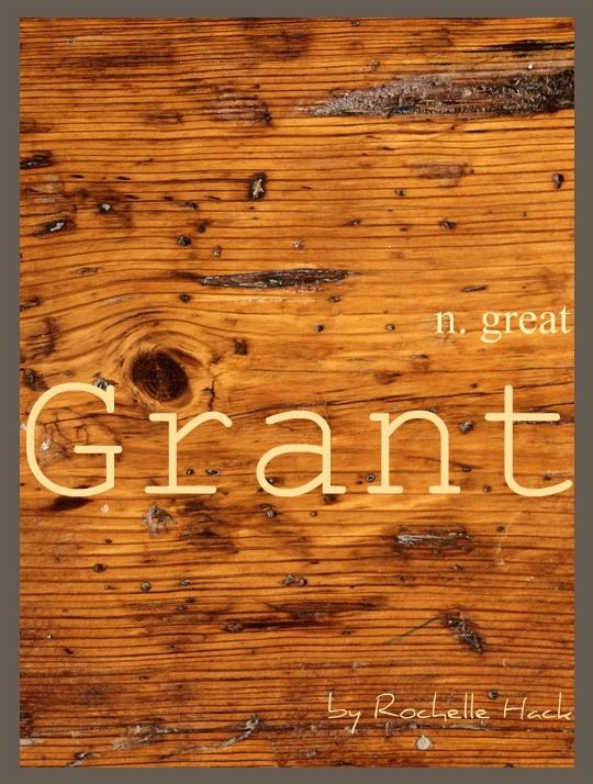 Baby Boy Name: Grant. Meaning: Great. Origin: Latin; Scottish; English. http://www.pinterest.com/vintagedaydream/baby-names/