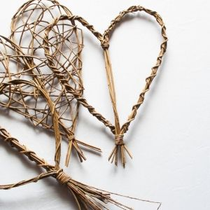 Willow hearts.