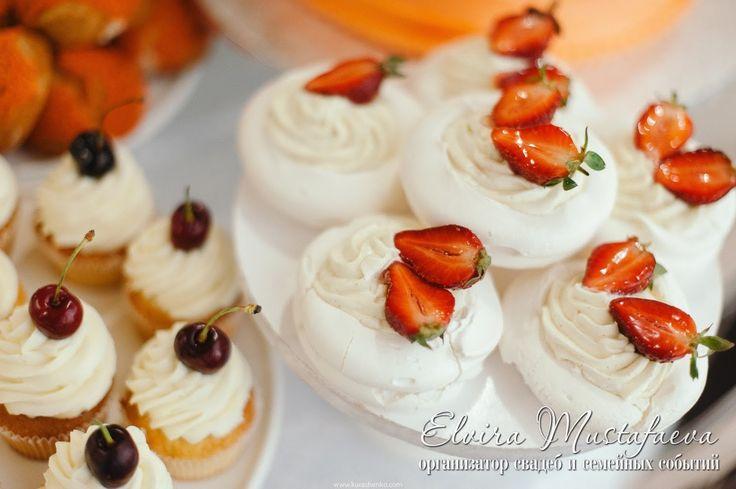 пирожные свадьба кенди бар анна павлова безе свадьба