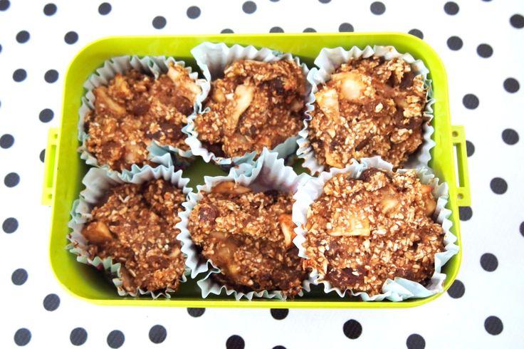 DE GROENE MEISJES // vegan sugarfree breakfast muffins
