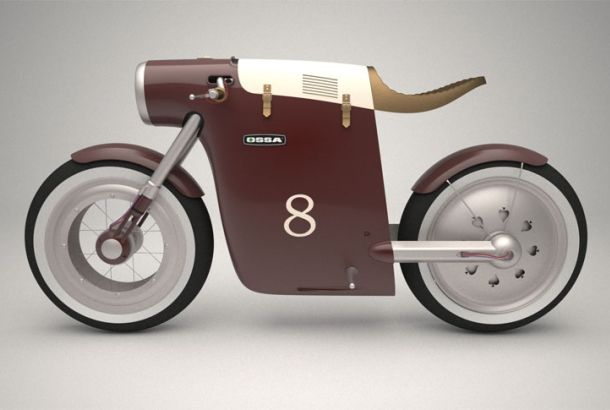 飾るだけで大満足、レトロデザインのグランプリバイク | roomie(ルーミー)