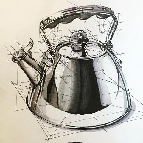 주전자 디자인
