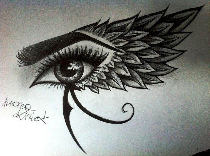 Les 25 meilleures id es de la cat gorie oeil d 39 horus illuminati sur pinterest il oudjat - Oeil d horus tatouage ...