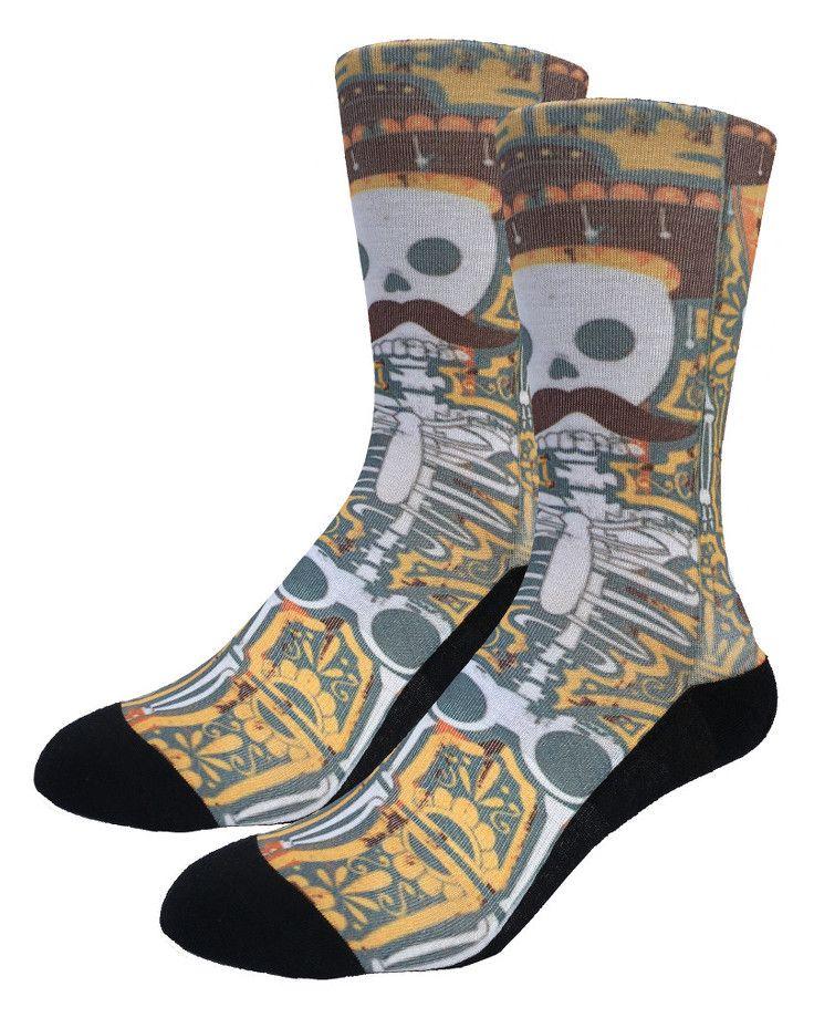 Senor Boñes | Good Luck Sock | goodlucksock.com #socks