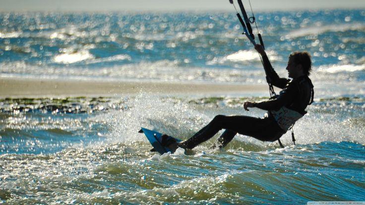 Kitesurfen | Noord-Beveland | Watersport | www.ruiterplaat.nl