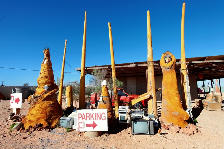 Coober Pedy, center Australia, underground town, A.K.A. the end of the world.