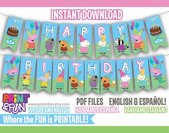 FREE+when+purchasing+your+party+kit+parabens+PEPPA+by+Printnfun,+€5.00