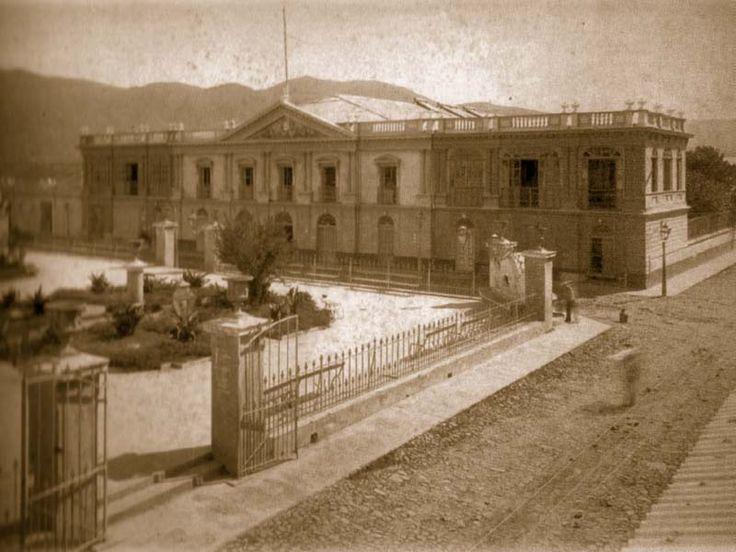 Palacio Nacional, 1912