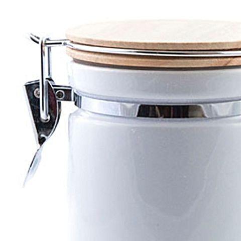 Wood Lid Clip Storage Jar by Next Generation Homewares   Zanui