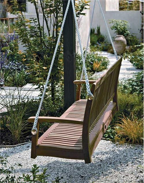 Transitional Swing & Outdoor Glider from Barlow Tyrie, Model: 1MOSW15