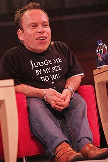 From Ewok to Willow to Leprechaun, Warwick Davis is my choice of midget! Love the shirt BTW!