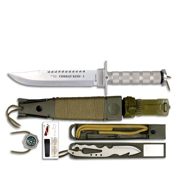 Couteau militaire de survie Combat King pas cher