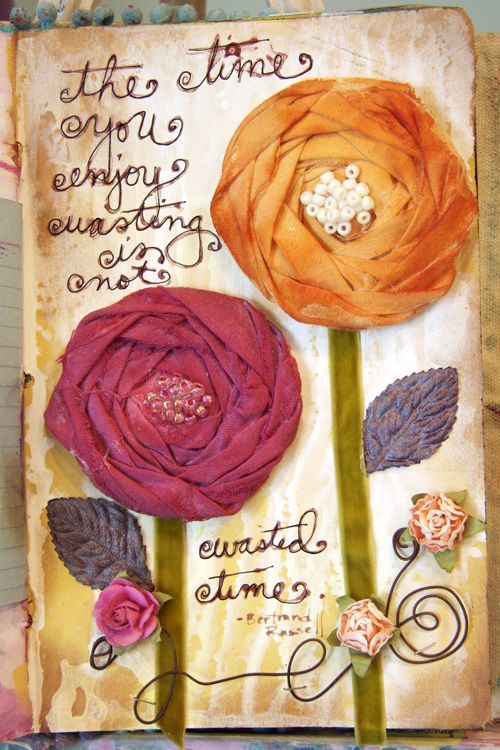 Donna Downey. Beautiful art and message with video tutorial. This is amazing, it gives me ton of ideas!