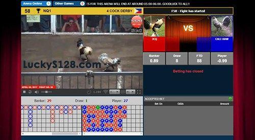 Daftar Akun Judi S128 Live Streaming Sabung Ayam Online