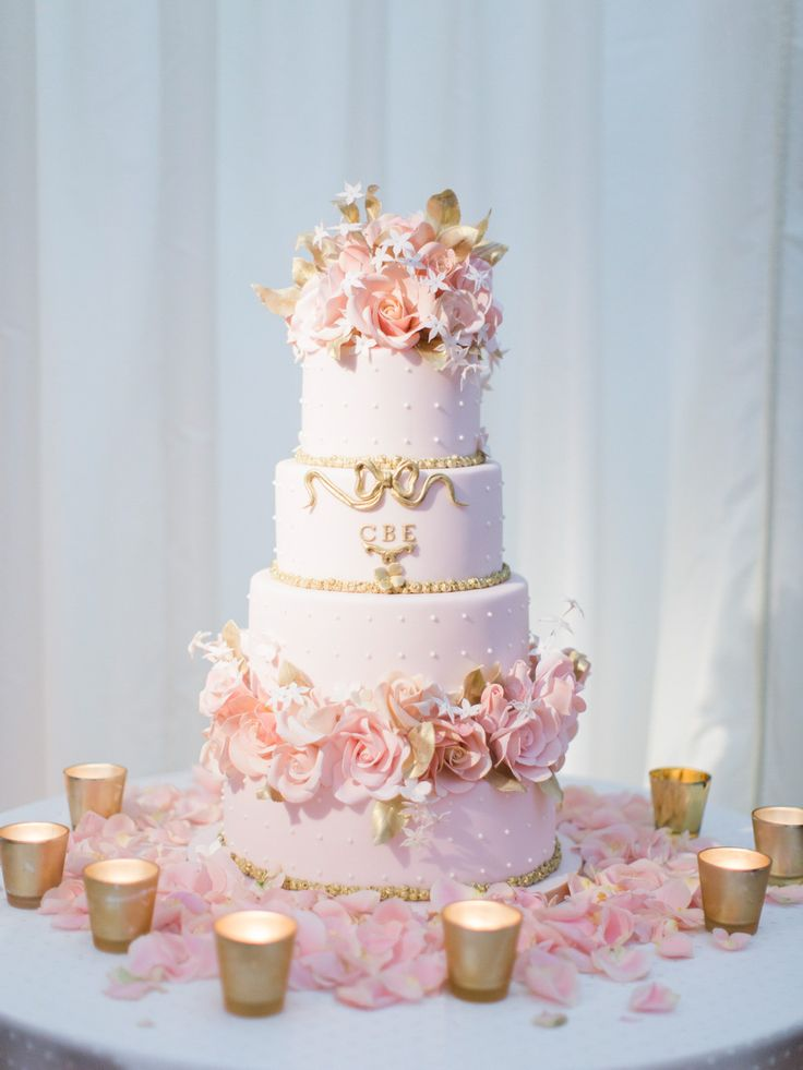 81 best Pink and Gold Cakes images on Pinterest | Amazing cakes ...