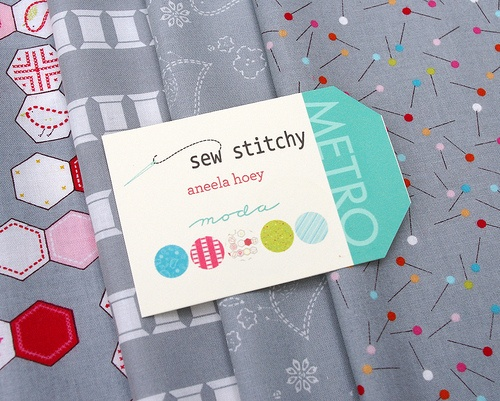 Sew Stitchy by Aneela Hoey for Moda