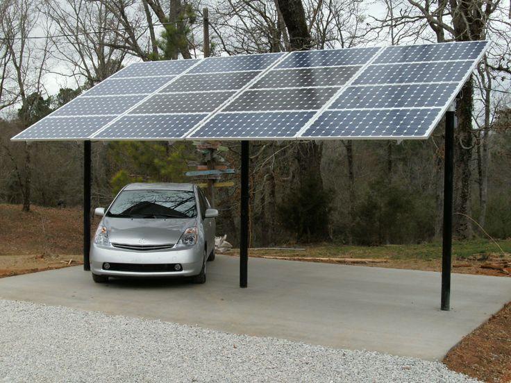 Solar Panel Carport Carport designs, Solar panels, Solar