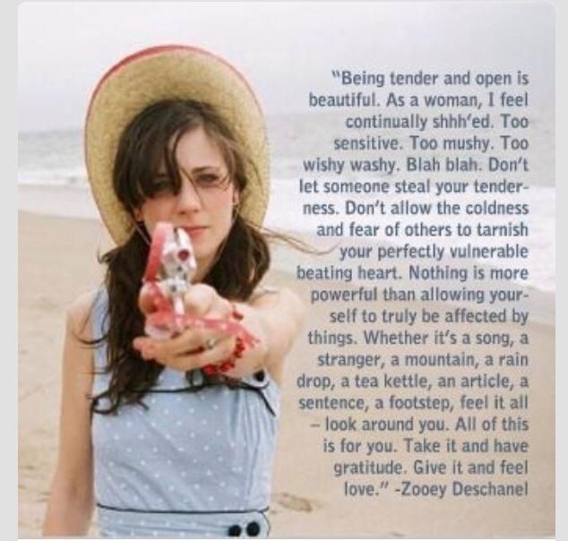 Image result for zooey deschanel quote