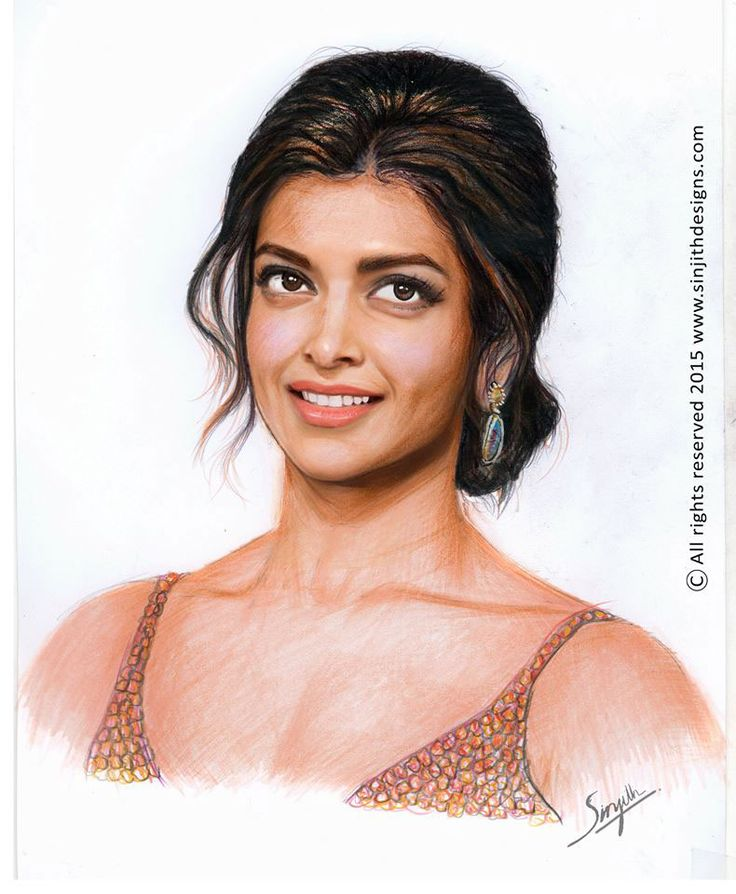Check out my behance project realistic colored pencil drawing of deepika padukone