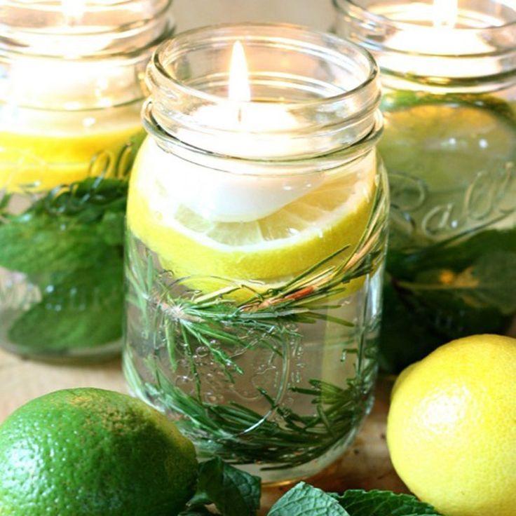 17 meilleures id es propos de bougies flottantes sur pinterest bougeoirs de centre de table - Bougies naturelles aux huiles essentielles ...