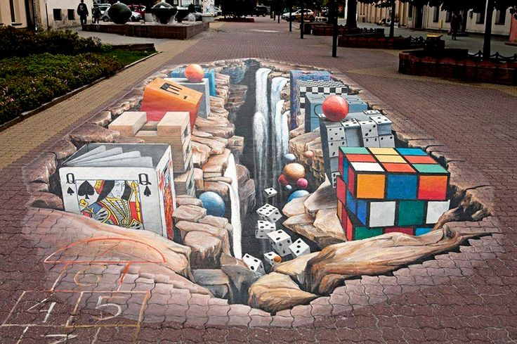 My 3D Painting in Lodz/PL