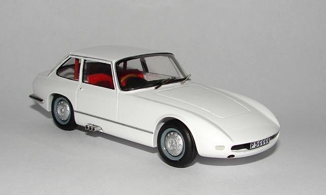 SAAB Facett -white- Modellbilar Kit 1/43 nordlandscale43 på Tradera.com