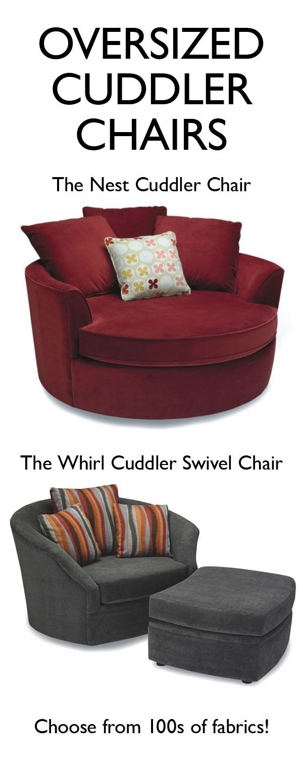 The Perfect Cuddler Chair. Curl Up And Layer Yourself In Blankets. Choose  From The Nest Or The Whirl Swivel Chair And Choose From Of Fabrics To Make  It ...