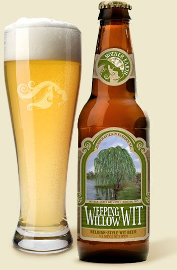 Another great NC brewery, Mother Earth out of Kinston. Weeping Willow is my favorite from them. Not much of a dark beer fan, but their Dark Cloud is quite tasty.