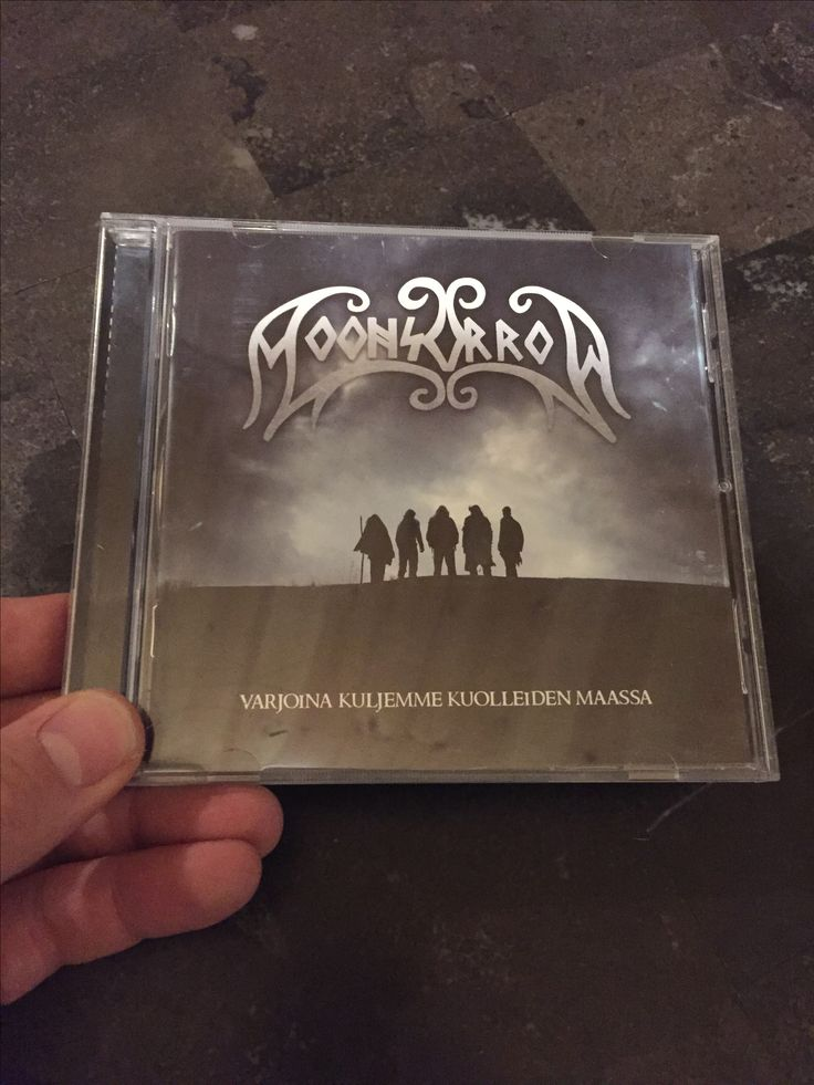 Moonsorrow - Varjoina Kuljemme Kuolleiden Maasa  Released by Spinefarm Records