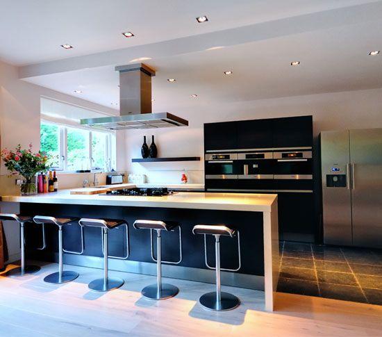 Keuken in uitbouw  aanbouw  Pinterest