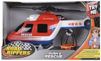 Voertuig Road Rippers Rush & Rescue helikopter
