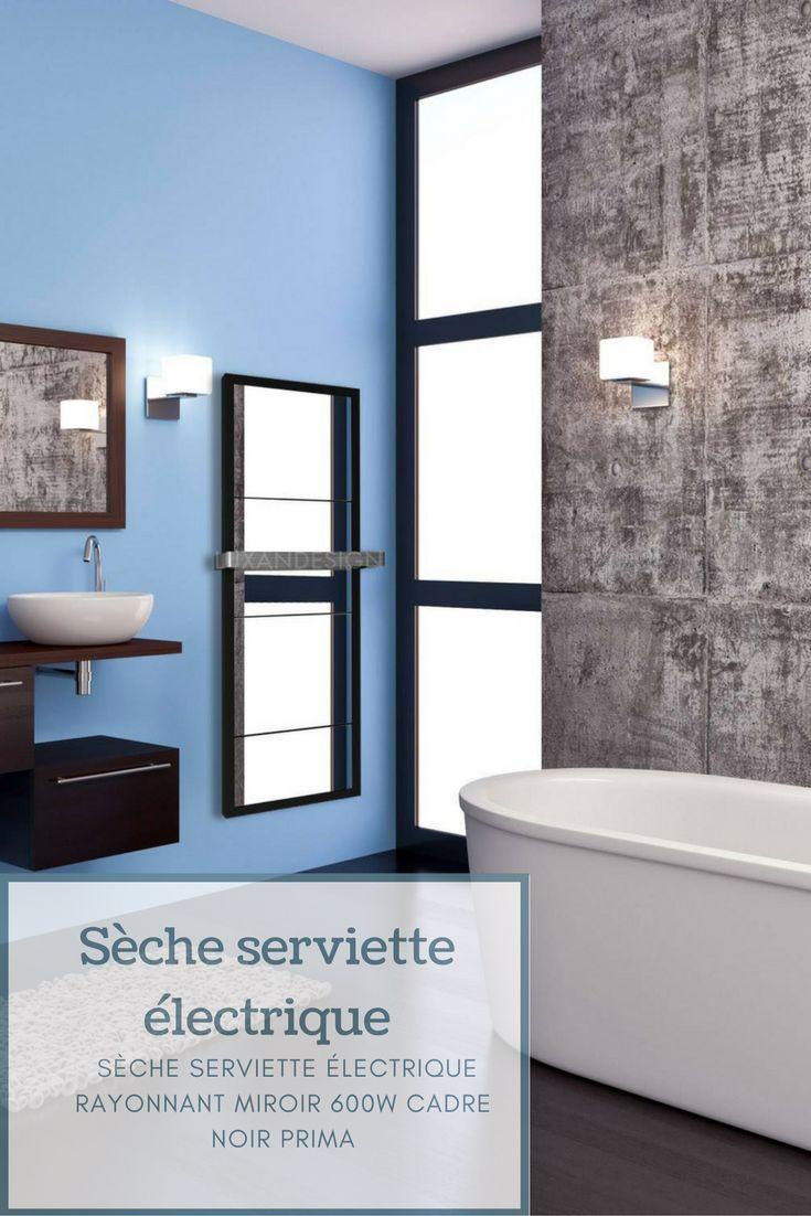 17 meilleures id es propos de s che serviette sur pinterest radiateur eau - Seche serviette electrique miroir ...
