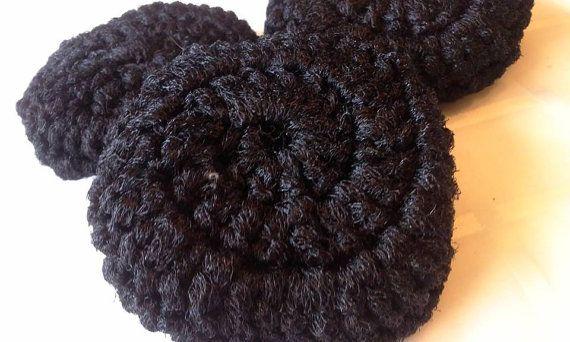 3 Nylon Crochet Dish Scrubbers by JennifersGemz on Etsy, $3.75