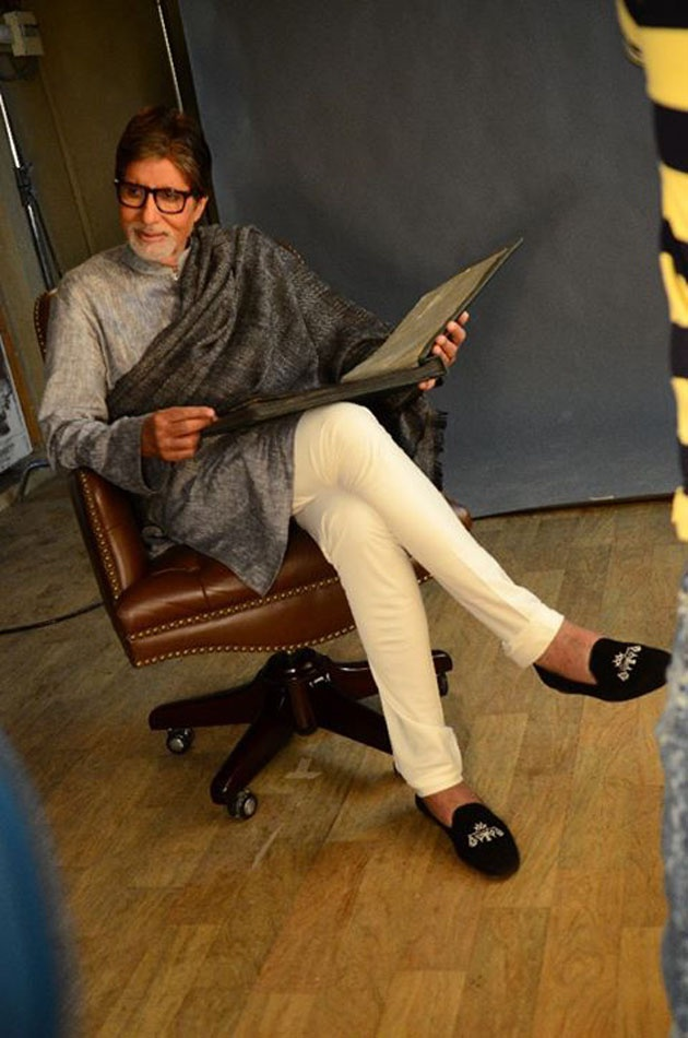 Amitabh Bachchan reveals the mystery behind his shoes