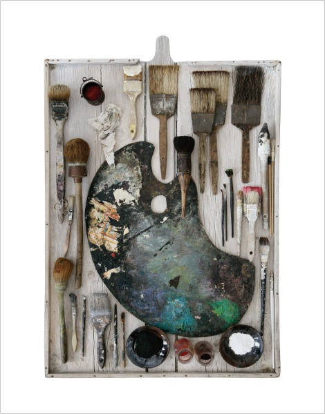 assemblage by Jean Sonnet