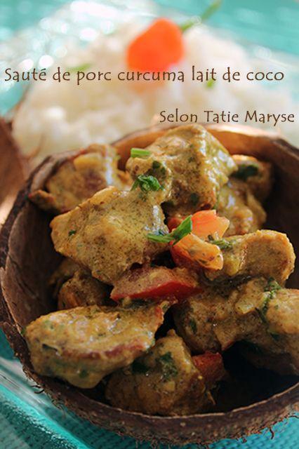 Dans cette recette, je vous permet de réaliser facilement un sauté de porc au lait de coco. Une recette qui fera le bonheur des petits et grands gourmands !