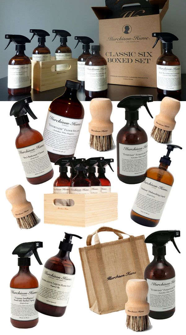 Murchison Hume eco-friendly, pet-friendly, child-safe household cleaning products