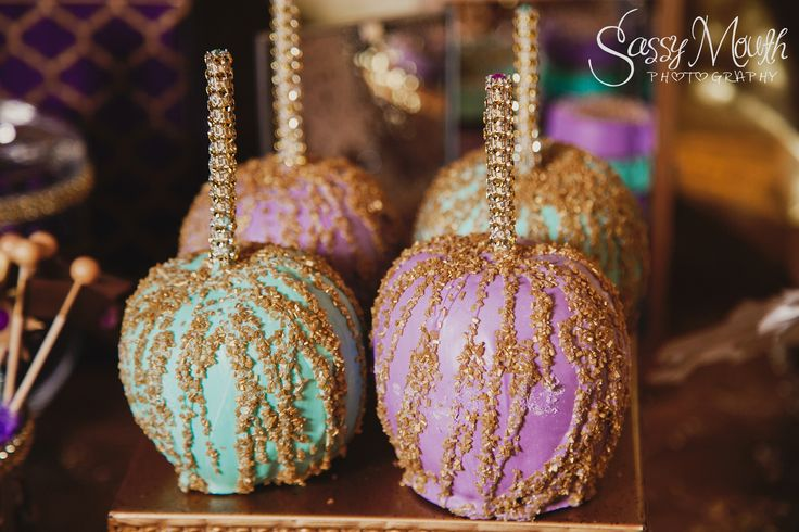 Sweet Candy Apple Table - Arabian Nights / Aladdin Wedding Inspired - from Sassy Mouth Photography