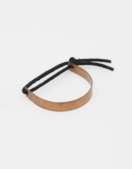 Catch Noir Bracelet  Maslo Jewelry