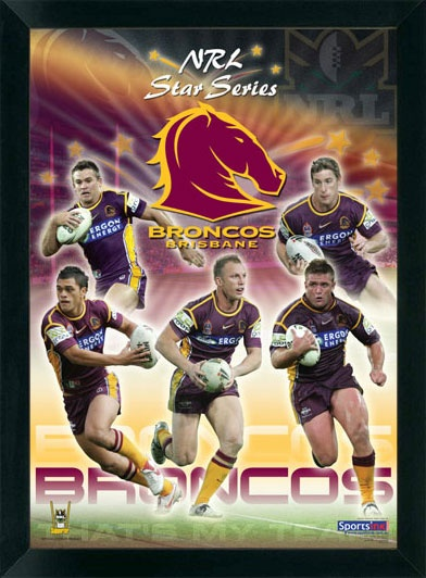 Brisbane Broncos, My favorite Rugby League Team.