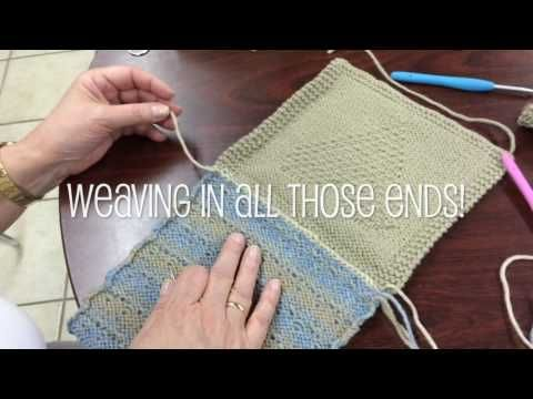 The Mattress Stitch: Sewing for Knitters - YouTube