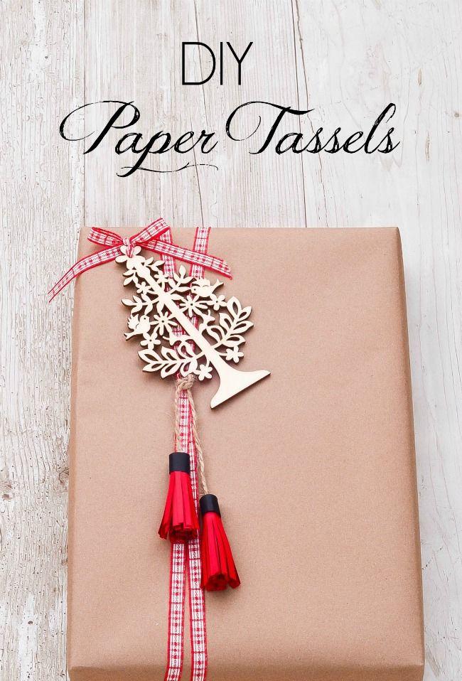Slightly Coastal-DIY Paper Tassels
