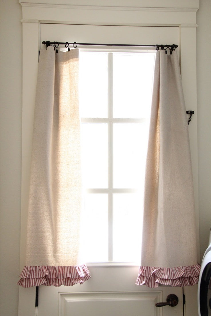 144 best country style curtains images on pinterest. Black Bedroom Furniture Sets. Home Design Ideas