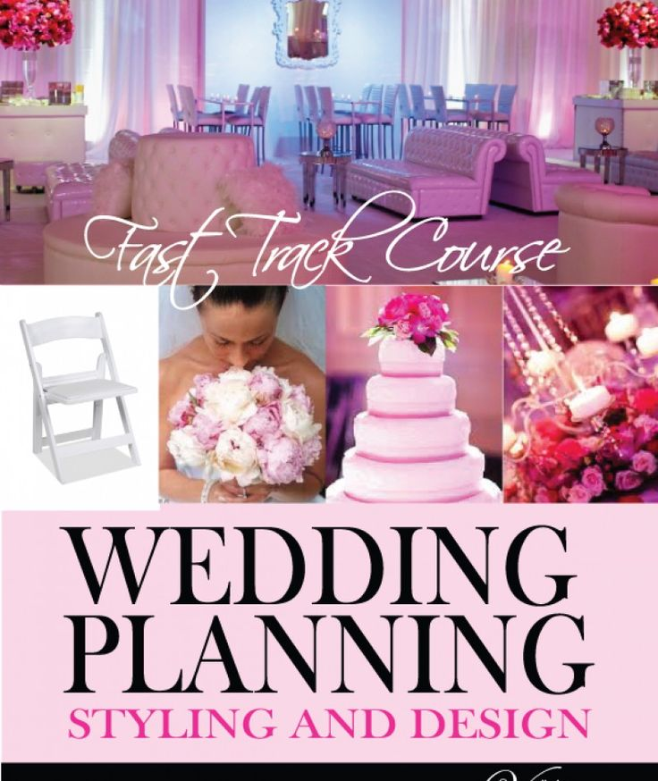 Become a wedding planner today! Wedding Planner Fast Track Course- find out more details on how you can become a wedding planner here:  http://lamodecollege.com/professional-wedding-planning-course/