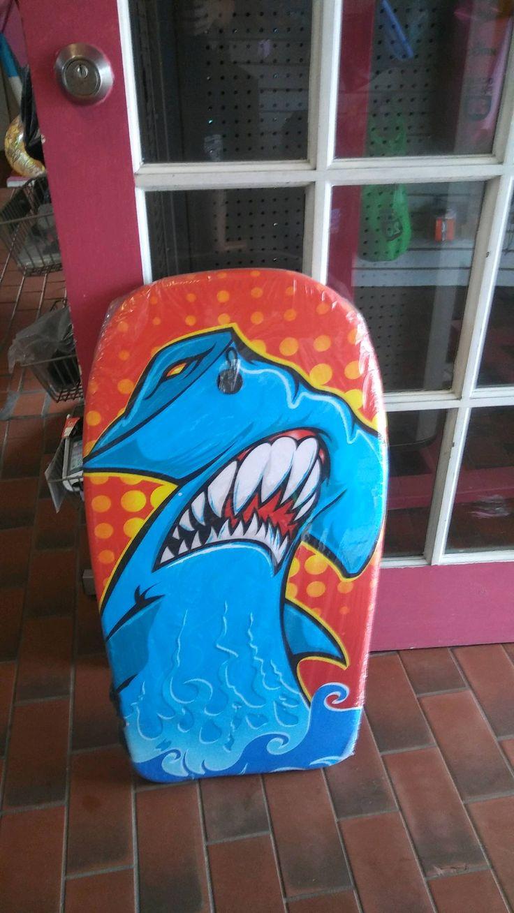 Body board - $19.99 at lisa's kayaks #kayak #fortpierce #lisaskayaks #paddleboarding #boogyboard #bodyboard #beach #beachgoodies #shark