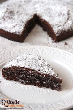 Chocolate cake #recipe #ricette #foodidea #foodcreative