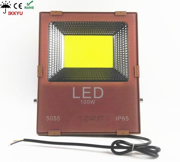 LED 100W Floodlight Outdoor Security Light 10000LM Daylight White (3000K-6500K)Super Bright Waterproof IP65 Landscape