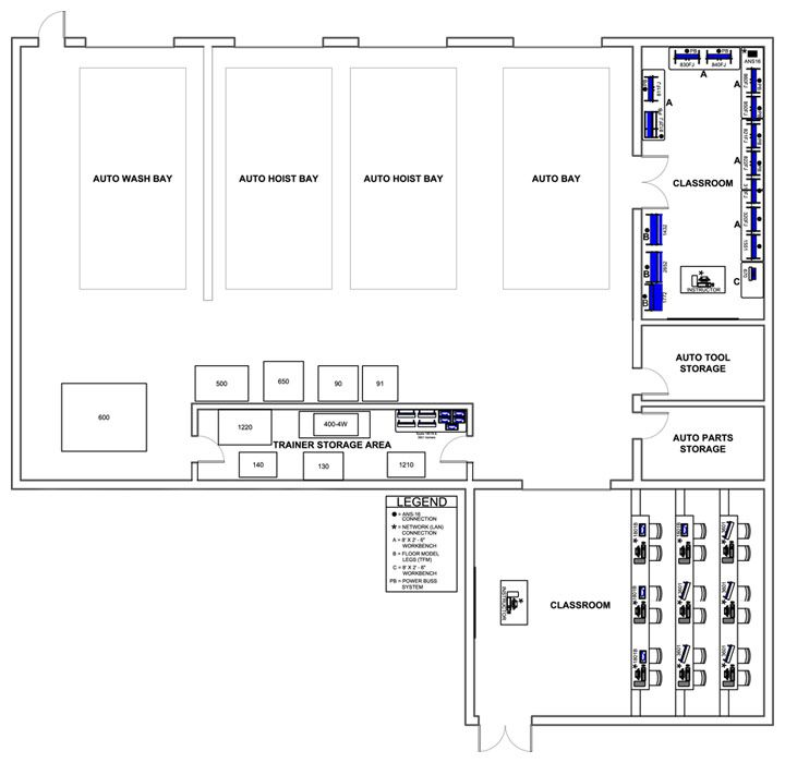 U300cautomotive Workshop Floor Plan Layout U300d U306e U753b U50cf U691c U7d22 U7d50 U679c